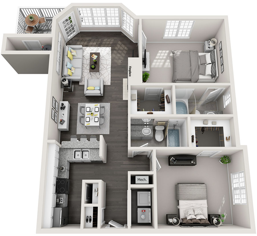 2 bedroom apartments in new Albany oh 1190 square feet